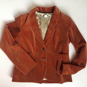 J.Crew Velvet Vintage Blazer